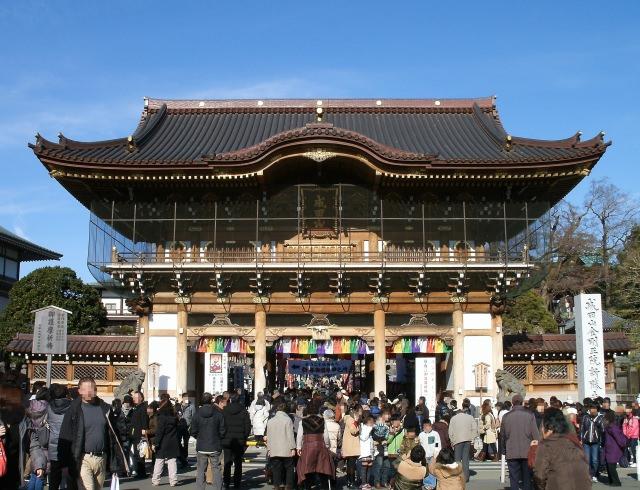 1. 体験観光スポットとしてもばっちり「成田山新勝寺 写経道場」