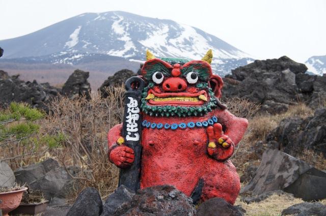 19. 日本でも数少ない火山噴火によって生まれた溶岩の芸術!「鬼押出し園」