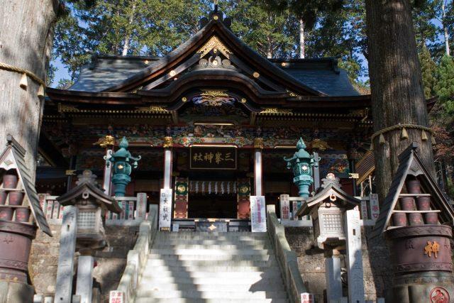 4. 関東屈指のパワースポットで運気を授かろう「三峰神社」