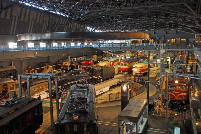 6. 鉄道のテーマパークで夢中になる「鉄道博物館」