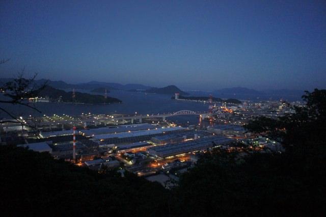 1. 広島市街地からも行きやすい夜景スポット「黄金山」