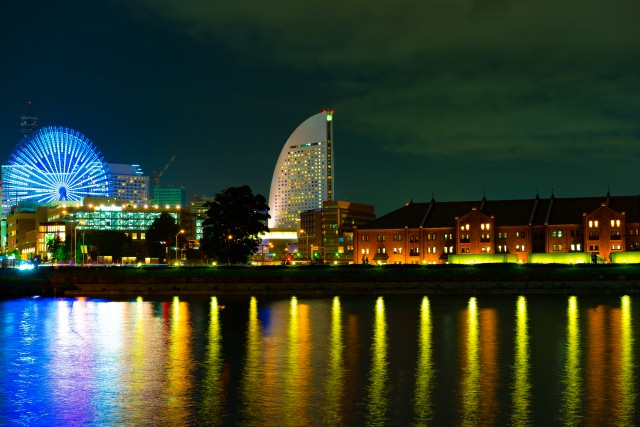 4. 昔の古き時代の日本が感じられる横浜の夜景スポット「横浜赤レンガ倉庫」