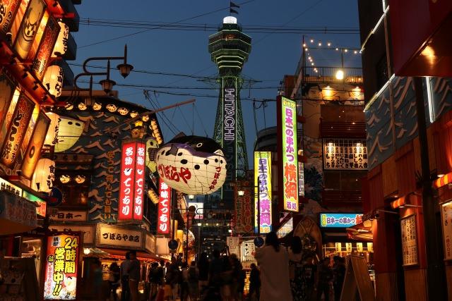 4. 大阪のシンボルタワー、難波にきたら行くべき観光スポット!「通天閣」
