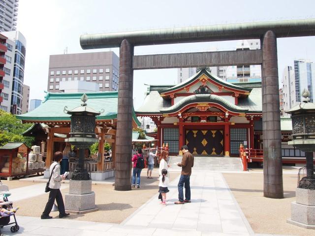 2. 歴史感じる、人形町の神社「水天宮」