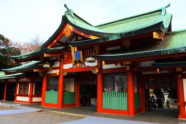 4. 東京の政治の中心にある神社「日枝神社」