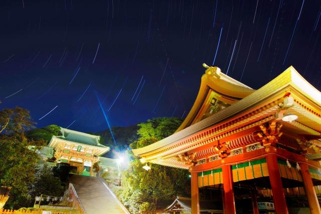 2. 鎌倉の人気観光スポットは夜景も素晴らしい「鶴岡八幡宮」