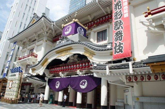 東京銀座の新観光名所「歌舞伎座」について